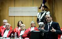 Il Ministro della Giustizia Angelino Alfano parla alla cerimonia di inaugurazione dell'Anno Giudiziario presso la Corte d'Appello di Roma, 29 gennaio 2011..UPDATE IMAGES PRESS/Riccardo De Luca