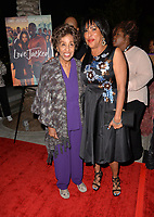 LOS ANGELES, CA- FEB. 08: Marla Gibbs, Angela Gibbs at the 2018 Pan African Film & Arts Festival at the Cinemark Baldwin Hills 15 in Los Angeles, California on Feburary 8, 2018 Credit: Koi Sojer/ Snap'N U Photos / Media Punch