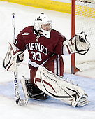 Lauren Joarnt (Harvard - 33) - The Boston College Eagles defeated the visiting Harvard University Crimson 6-2 on Sunday, December 5, 2010, at Conte Forum in Chestnut Hill, Massachusetts.