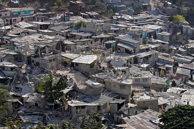 Earthquake aftermath in Haiti on Friday January 22, 2010...