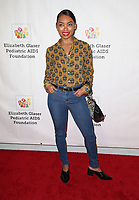 29 October 2017 - Culver City, California - Logan Browning. Elizabeth Glaser Pediatric AIDS Foundation's 28th Annual 'A Time For Heroes' Family Festival helming at Smashbox Studios. Photo Credit: F. Sadou/AdMedia