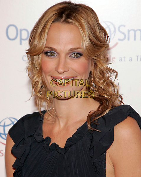 MOLLY SIMS.at the Operation Smile event, New York, New York, .USA, 19th May 2006..portrait headshot black dress .Ref: ADM/JL.www.capitalpictures.com.sales@capitalpictures.com.©Jackson Lee/AdMedia/Capital Pictures.