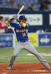 Paulo Orlando (BRA), .February 26, 2013 - WBC : .2013 World Baseball Classic, Exhibithion Game .match between Brazil 2-6 ORIX Buffaloes .at Kyocera Dome, Osaka, Japan..(Photo by AJPS/AFLO SPORT)