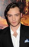 HOLLYWOOD, CA - OCTOBER 25: Ed Westwick arrives at the Los Angeles premiere of 'Fun Size' at Paramount Studios on October 25, 2012 in Hollywood, California.