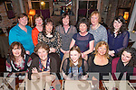 Front Left to Right Eileen Dowling, Nora Dineen, Lisa Dowling, Maura Dowling, Sinead Guihan, Back left to Right Julia Dowling, Joanne Dowling, Alisha Dowling, Catherine Byrne, Berni Dowling, Margaret Dowling, Lucy Dowling, celebrating a Dowling Gathering at the Stone House on Saturday