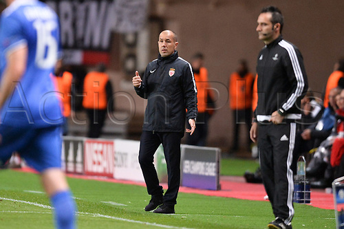 May 3rd 2017, Stade Louis II, Monaco,France; UEFA Champions league football semi-final, AS Monaco versus Juventus;  LEONARDO JARDIM (TRAINER MONACO)