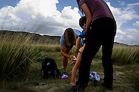"Rowan, a five-year-old autistic child, is cleaned by his parents after soiling his pants during a horseback expedition across Mongolia. Rowan, who has been nicknamed ""The Horse Boy"", embarked on a therapeutic journey of discovery with his parents to visit a succession of shaman healers in one of the most remote regions in the world. Following Rowan's positive response to a neighbour's horse, Betsy, and some reaction to treatment by healers, Rowan's parents hoped that the Mongolian shamanistic rituals along the route and the prolonged contact with horses would help to unlock their son's autism and assist his development.."