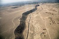 Afghanistan, 10.2012. Blick vom Helikopter auf die Unruheprovinz Baglan . | Baglhan province viewed from a helicopter. © Timo Vogt/EST&OST