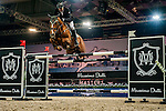 Marc Houtzager of Netherlands riding Sterrehof's Uppity at the the Massimo Dutti Trophy during the Longines Hong Kong Masters 2015 at the AsiaWorld Expo on 15 February 2015 in Hong Kong, China. Photo by Juan Flor / Power Sport Images