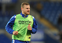 Bolton Wanderers' David Wheater during the pre-match warm-up <br /> <br /> Photographer Kevin Barnes/CameraSport<br /> <br /> The EFL Sky Bet Championship - Cardiff City v Bolton Wanderers - Tuesday 13th February 2018 - Cardiff City Stadium - Cardiff<br /> <br /> World Copyright &copy; 2018 CameraSport. All rights reserved. 43 Linden Ave. Countesthorpe. Leicester. England. LE8 5PG - Tel: +44 (0) 116 277 4147 - admin@camerasport.com - www.camerasport.com
