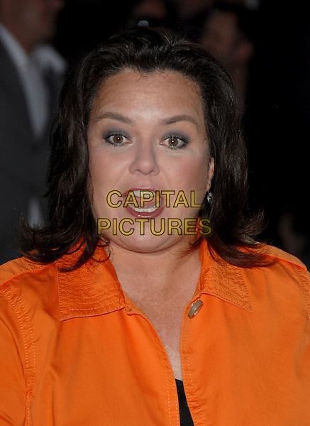 ROSIE O'DONNELL.The FX Season 4 Premiere Screening of Nip/Tuck held at The Paramount Studios in Hollywood, California, USA..August 25th, 2006.Ref: DVS.Nip Tuck headshot portait mouth open.www.capitalpictures.com.sales@capitalpictures.com.©Debbie VanStory/Capital Pictures