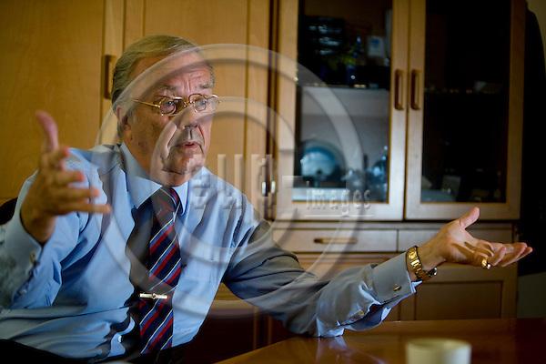 BRUSSELS - BELGIUM - 27 OCTOBER 2008 -- Kjell PETERSON, head of the West Sweden office in Brussels. Photo: Erik Luntang/EUP-IMAGES