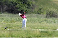 Jason Day (AUS) tees off the 2nd tee during Thursday's Round 1 of the 117th U.S. Open Championship 2017 held at Erin Hills, Erin, Wisconsin, USA. 15th June 2017.<br /> Picture: Eoin Clarke | Golffile<br /> <br /> <br /> All photos usage must carry mandatory copyright credit (&copy; Golffile | Eoin Clarke)
