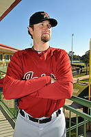 Feb 25, 2010; Kissimmee, FL, USA; The Houston Astros pitcher Brandon Lyon (37) during photoday at Osceola County Stadium. Mandatory Credit: Tomasso De Rosa/ Four Seam Images