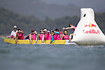 Participants of Red Bull Dragon Roar on 06 August 2016 at Sai Kung's Sha Ha Beach, in Hong Kong, China.  Photo by Marcio Machado / Power Sport Images