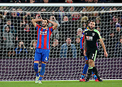 9th December 2017, Selhurst Park, London, England; EPL Premier League football, Crystal Palace versus Bournemouth; Luka Milivojevic of Crystal Palace reacts after missing a goal scoring opportunity in stoppage time