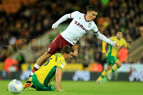 2018 EFL Championship Football Norwich City v Aston Villa