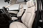 Front seat view of 2017 Hyundai Santa-Fe Limited-Ultimate-FWD 5 Door SUV Front Seat  car photos