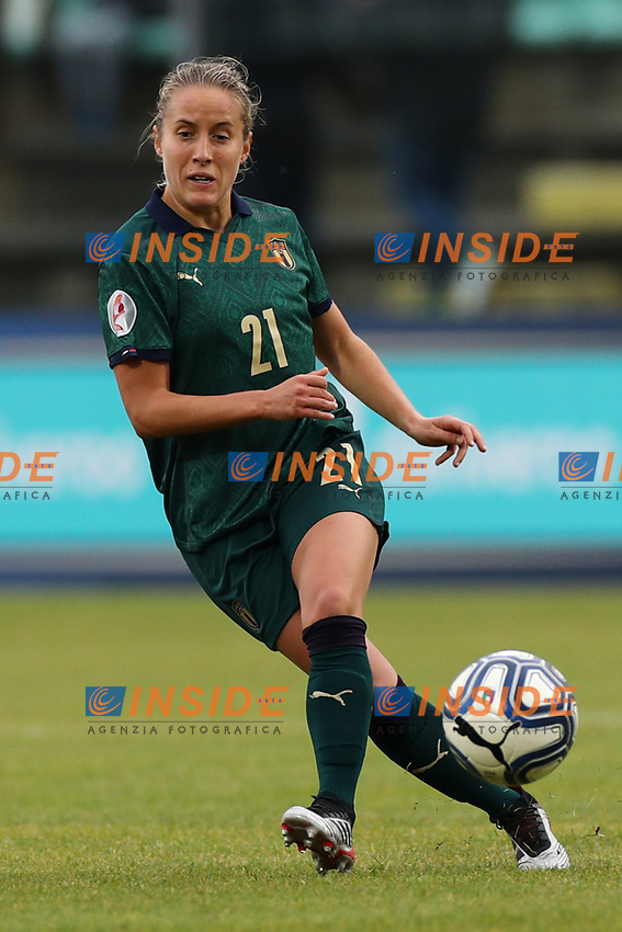Valentina Cernoia of Italy<br /> Castel di Sangro 12-11-2019 Stadio Teofolo Patini <br /> Football UEFA Women's EURO 2021 <br /> Qualifying round - Group B <br /> Italy - Malta<br /> Photo Cesare Purini / Insidefoto