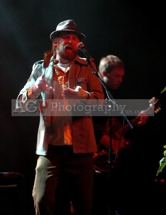 Feb 21, 2009 - Oakland, California, United States - CAKE, led by JOHN MCCREA performs at the Fox Theater in Oakland, California Saturday Feb. 21, 2009. CAKE, led by John McCrea performs at the Fox Theater in Oakland, California Saturday Feb. 21, 2009. CAKE is an American alternative rock band from Sacramento, California which has had several hits throughout the 1990s and 2000s from six albums..(Credit Image: © Alan Greth/ZUMA PRESS)