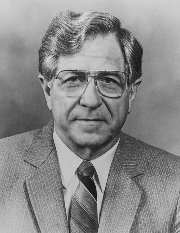 Portrait of Rep. Neal Edward Smith, D-Iowa, on Aug. 17, 1983. (Photo by CQ Roll Call)