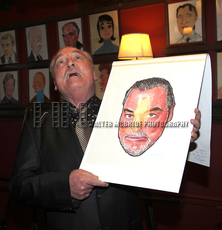 Stacy Keach.attending the Sardi's Caricature Unveiling in New York City, February 16,  2012 © Walter McBride/WM Photography /
