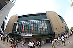 Hanshin Koshien Stadium,<br /> AUGUST 22, 2013 - Baseball :<br /> A general view of Koshien Stadium before the 95th National High School Baseball Championship Tournament final game between Maebashi Ikuei 4-3 Nobeoka Gakuen at Koshien Stadium in Hyogo, Japan. (Photo by Katsuro Okazawa/AFLO)