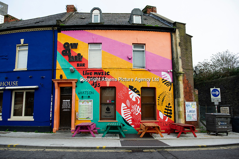 Pictured: A general view of Gwdihw in Guildford Crescent, Cardiff, Wales, UK. Thursday 10 January 2018<br /> Re: Calls have been made for a board to be set up to help safeguard music in Cardiff following the closure of one venue and another under threat.<br /> <br /> Buffalo has closed, with owners citing business rate rises, while Gwdihw is also set to shut later this month after its landlord did not renew the lease.