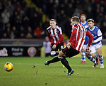Billy Sharp of Sheffield United missing a penalty during the English Football League One match at Bramall Lane, Sheffield. Picture date: November 29th, 2016. Pic Jamie Tyerman/Sportimage