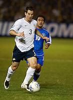 Carlos Bocanegra during FIFA World Cup qualifier against El Salvador. USA tied El Salvador 2-2 at Estadio Cuscatlán Stadium in El Salvador on March 28, 2009.