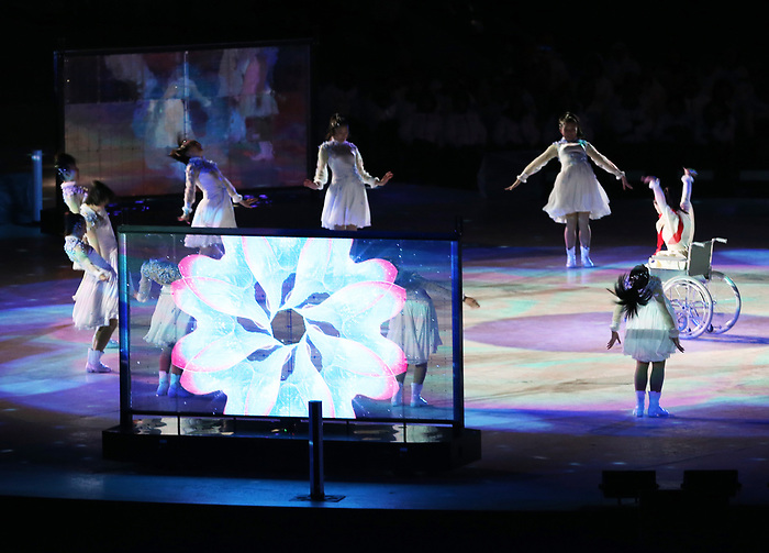 Pyeongchang, Korea, 18/3/2018-Closing ceremonies during the 2018 Paralympic Games. Photo: Scott Grant/Canadian Paralympic Committee.
