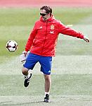 Spain's coach Julen Lopetegui during training session. March 22,2017.(ALTERPHOTOS/Acero)
