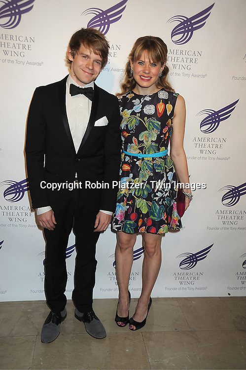 Andrew and sister Celia Keenan-Bolger attends the American Theatre Wing's Annual Gala honoring the Redgrave Family on September 24, 2012 at The Plaza Hotel in New York City.