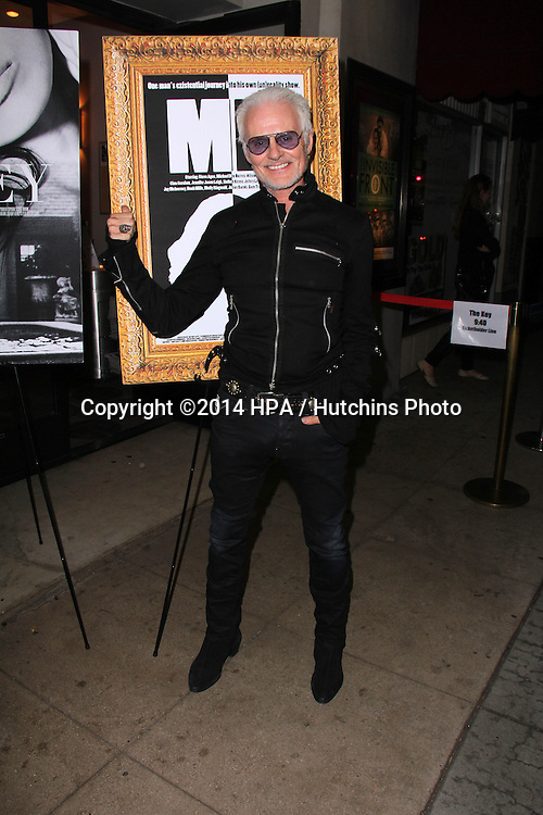 """LOS ANGELES - NOV 21:  Michael Des Barres at the """"The Key"""" Premiere at the Laemmle's Music Hall on November 21, 2014 in Beverly Hills, CA"""