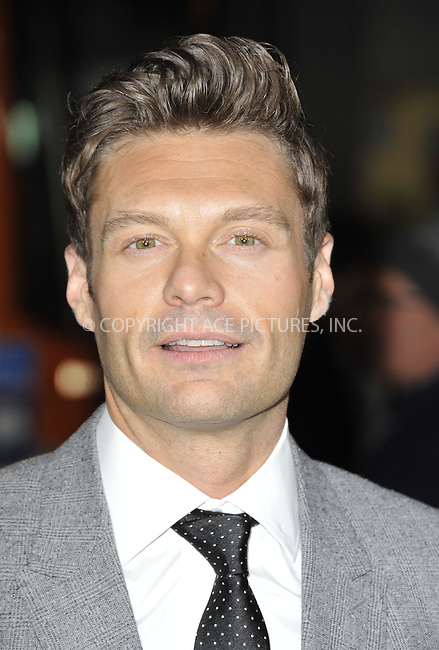 WWW.ACEPIXS.COM....February 5 2013, LA....Ryan Seacrest arriving at the 'Safe Haven' - Los Angeles Premiere at TCL Chinese Theatre on February 5, 2013 in Hollywood, California.....By Line: Peter West/ACE Pictures......ACE Pictures, Inc...tel: 646 769 0430..Email: info@acepixs.com..www.acepixs.com