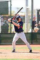 Jared Goedert, Cleveland Indians 2010 minor league spring training..Photo by:  Bill Mitchell/Four Seam Images.