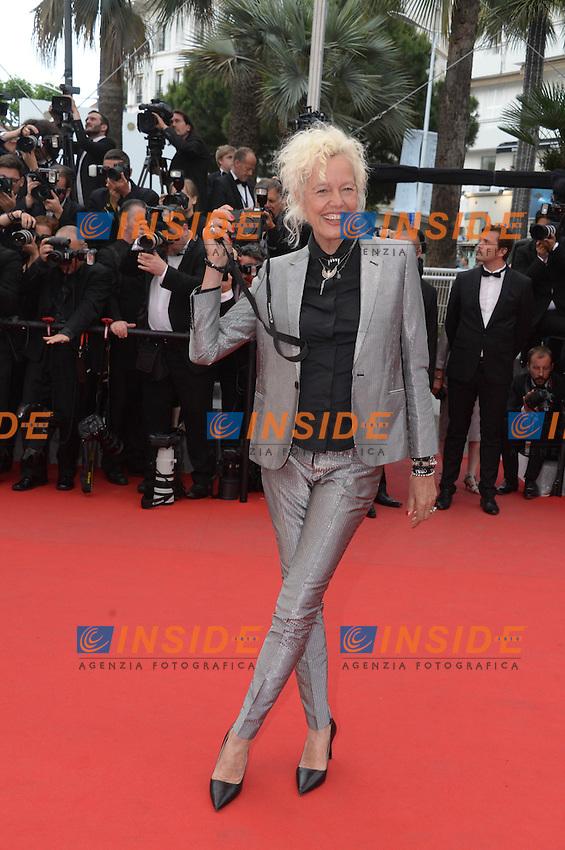 Ellen von Unwerth <br /> Festival del Cinema di Cannes 2015<br /> Foto Panoramic / Insidefoto