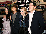 """HOLLYWOOD, CA. - September 16: Megan Fox, Johnny Simmons, Amanda Seyfried and Adam Brody arrive at """"Jennifer's Body"""" Hot Topic Fan Event at Hot Topic on September 16, 2009 in Hollywood, California."""