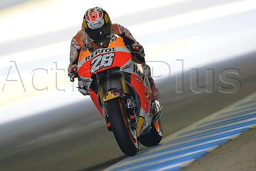 10.10.2015. Motegi Racetrack, Japan. MotoGP of Japan, qualification day. Dani Pedrosa come sin 2nd on pole