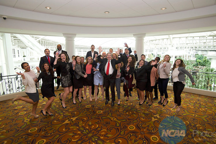 18 JAN 2017: The Division I Student Athlete Advisory Committee meeting takes place during the 2017 NCAA Convention at the Gaylord Opryland Resort and Convention Center in Nashville, TN.  Jamie Schwaberow/NCAA Photos