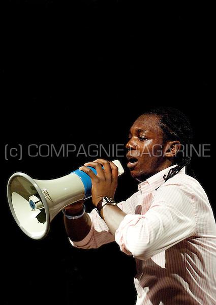 Belgian/Congolese rapper Baloji at the Nuits du Botanique in Brussels (Belgium, 17/05/2010)