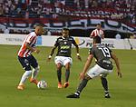 Junior venció 3-0 a Once Caldas. Fecha 10 Liga Águila I-2018.