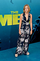 "LOS ANGELES, CA - August 06, 2018: Teagan Croft at the US premiere of ""The Meg"" at the TCL Chinese Theatre"