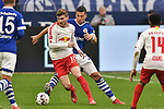 16.03.2019, VELTINS-Arena, Gelsenkirchen, GER, DFL, 1. BL, FC Schalke 04 vs RB Leipzig, DFL regulations prohibit any use of photographs as image sequences and/or quasi-video<br /> <br /> im Bild v. li. im Zweikampf Timo Werner (#11, RB Leipzig) Jeffrey Bruma-van Homoet (#27 FC Schalke 04)<br /> <br /> Foto © nph/Mauelshagen