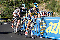 Alberto Contador, Christopher Froome Nicholas Roche during the stage of La Vuelta 2012 between Barakaldo and Valdezcaray.August 21,2012. (ALTERPHOTOS/Paola Otero) /NortePhoto.com