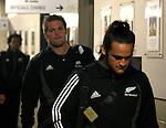 All Black Richie McCaw enters Waikato Stadium before the Iveco rugby union international test match between the All Blacks and Canada at Waikato Stadium, Hamilton, New Zealand on Saturday 16 June 2007. The All Blacks won the match 64 - 13.