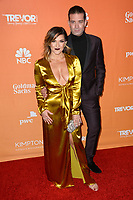 Shoshana Bean &amp; Omar Sharif, Jr. at the 2017 TrevorLIVE LA Gala at the beverly Hilton Hotel, Beverly Hills, USA 03 Dec. 2017<br /> Picture: Paul Smith/Featureflash/SilverHub 0208 004 5359 sales@silverhubmedia.com