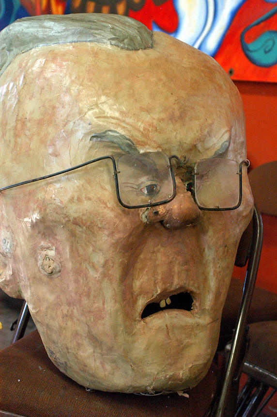 AJ Alexander - Sheriff Joe Arpaio's Head..Photo by AJ Alexander.