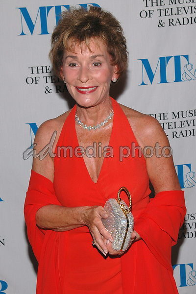 26 May 2005 - New York, New York - Judge Judy Sheindlin arrives at The Museum of Television and Radio's Annual Gala where Merv Griffin is being honored for his award winning career in radio and television.<br />Photo Credit: Patti Ouderkirk