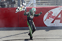 March 24, 2013 Fontana, CA: 17th Annual Auto Club 400 held at the Auto Club Speedway. Sprint Cup Series driver Kyle Busch #18